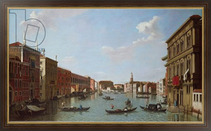 Репродукция картины The Grand Canal and San Geremia, Venice