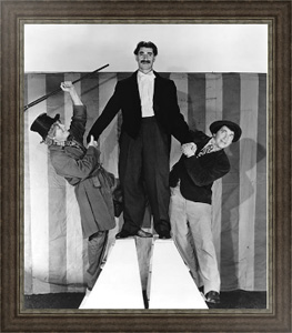 Ретро постер Marx Brothers (At The Circus)