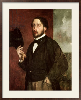 Картина Self portrait, c.1862