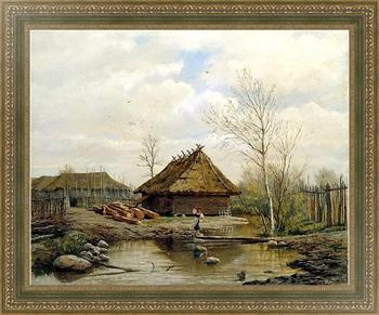 Репродукция картины Весна. 1875