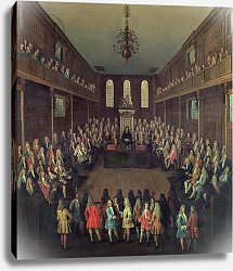 Постер Тилеманс Питер The House of Commons in Session, 1710