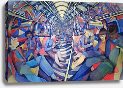 Постер Джонсон Уол (совр) Subway NYC, 1994