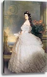Постер Винтерхальтер Франсуа Elizabeth, Empress of Austria, 1865