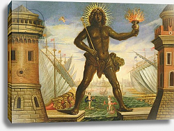 Постер Торелли Джакомо Prologue: the Harbour with the Colossus of Rhodes