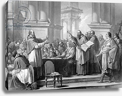 Постер Лоо Чарли Meeting of St. Augustine and the Donatists
