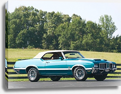 Постер Oldsmobile 442 W-30 Convertible '1972
