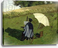 Постер Дьютилюкс Анри Desire Dubois Painting in the Open Air, c.1852