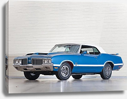 Постер Oldsmobile 442 W-30 Convertible '1970