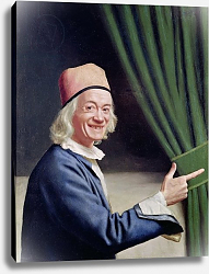 Постер Лиотард Йен Self Portrait Smiling, c.1770-73