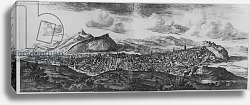 Постер Слезер Джон The Prospect of Edinburgh from the North, from 'Theatrum Scotiae', edition published in 1719