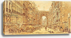 Постер Гиртин Томас The Faubourg and the Porte Saint-Denis, 1801