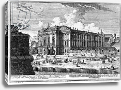 Постер Клейнер Саломон (грав) View of the Trautson Palace built for Count Johann Leopold Donat Trautson, designed in 1710
