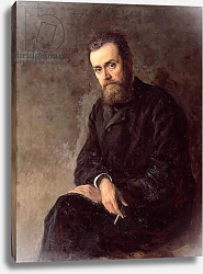 Постер Ярошенко Николай Portrait of Gleb I. Uspensky 1884