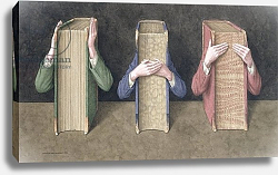 Постер Уолстенхолм Джонатан (совр) Three Wise Books, 2005