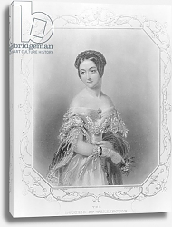 Постер Хейтер Джордж Elizabeth Wellesley, Duchess of Wellington, engraved by William and Francis Holl