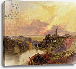 Постер Данби Франсис The Avon Gorge at Sunset