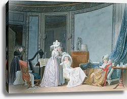 Постер Малле Жан-Батист Meeting in a Salon, 1790