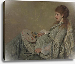 Постер Шолдер Отто Франц Portrait of the Artist's Wife