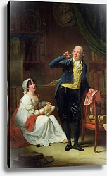 Постер Данлюкс Анри Пьер Jacques Delille and his Wife, 1802