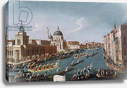 Постер Белла Габриэль The Women's Regatta on the Grand Canal, Venice