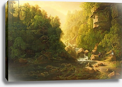 Постер Данби Франсис The Mountain Torrent, c.1820-30