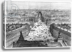 Постер Дерой Август Improvements to Paris, opening of Avenue Napoleon after the building of the Butte des Moulins, 1877