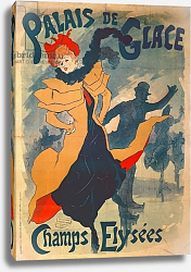 Постер Шере Жюль Poster advertising the Palais de Glace on the Champs Elysees