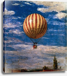 Постер Сзиней Мерсе The Balloon, 1878