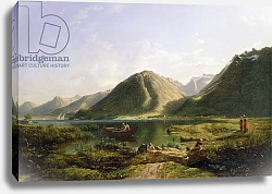 Постер Данби Франсис End of Lake Geneva, 1835