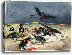 Постер Гранвиль France delivered to crows of all kinds, from 'La Caricature', 31 October 1831