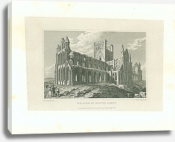 Постер N. E. View of Whitby Abbey