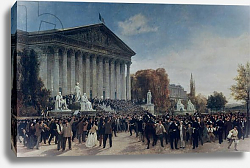 Постер Джуа Жак The Palais du Corps Legislatif after the Last Sitting on 4th September 1870