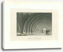 Постер Interior of Fountains Abbey