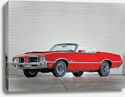 Постер Oldsmobile 442 W-25 Convertible '1971
