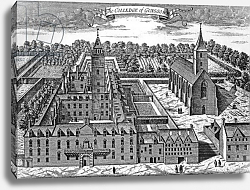 Постер Слезер Джон The Colledge of Glasgow, from 'Theatrum Scotiae', 1693