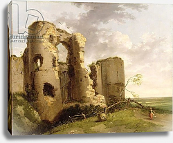 Постер Мортимер Джон View of the West Gate of Pevensey Castle, Sussex, c.1774
