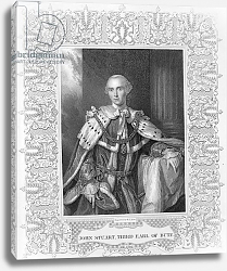 Постер Рамзай Алан John Stuart, Third Earl of Bute, engraved by W.T. Mote