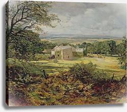 Постер Харди Эвелин English landscape with a house, 19th century