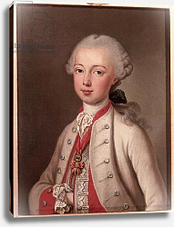 Постер Лиотард Йен Leopold II Holy Roman Emperor and Grand-duke of Tuscany, 1762