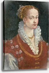 Постер Аллори Алессандро Portrait of Bianca Cappello Wife of Francesco de Medici, Grand Duke of Tuscany, c.1585