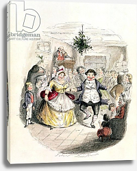 Постер Лич Джон Mr Fezziwig's Ball, from 'A Christmas Carol' by Charles Dickens 1843