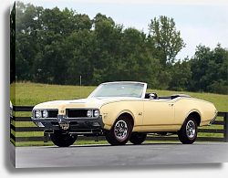 Постер Oldsmobile 442 W-30 Convertible '1969