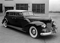 Постер Lincoln K ''Sunshine Special'' Presidential Convertible Limousine '1939