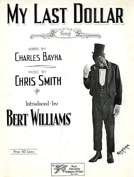 Bert Williams Sheet Music 3