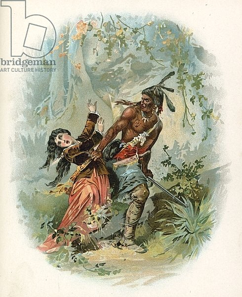 Illustration for Last of the Mohicans