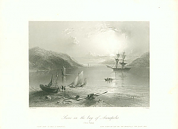 Постер Scene in the bay of Annapolis