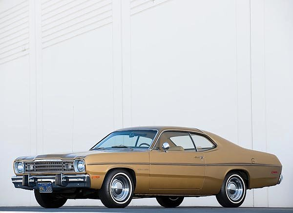 Plymouth Gold Duster '1973
