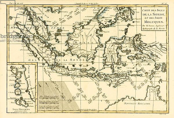 Indonesia and the Philippines, 1780