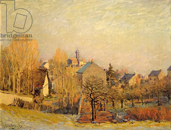 Frosty Morning in Louveciennes, 1873