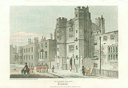 Постер St.James Palace, North West View, Westminster